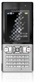 Sony-Ericsson-T700-Black-on-Silver