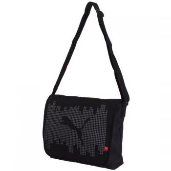 Puma-Pixel-Shoulder-Bag-Umhaengetasche-black-steel-grey-white
