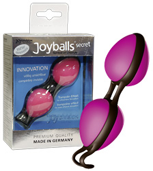 Joyballs-»secret«-pink-schwarz