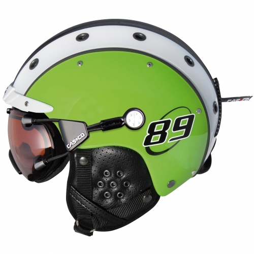 Casco-Skihelm-Sp-3-Airwolf-89-Gruen